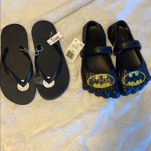 BOGO💙💙 boys size 3 sandals Batman